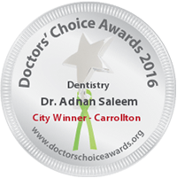 Hebron Smiles, Doctors Choice Awords City Winner Logo