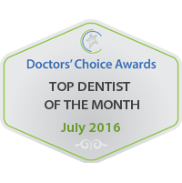 Hebron Smiles, Doctors Choice Awords Top Dentist Of a Month Logo