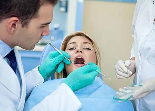At Hebron Smiles, Dr. Adnan Saleem offers oral cancer screening.