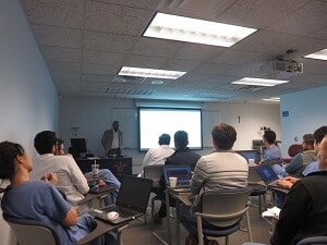 Dr. Athar's Lecture at Saint Louis University in St. Louis image 2