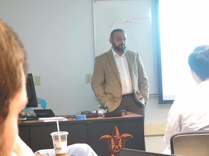 Dr. Athar's Lecture at Saint Louis University in St. Louis image 3