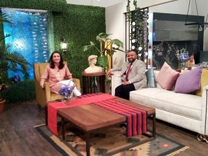 Dr. Anas Athar on the set of TV Show Chai, Toast aur Host for an interview for Dawn News (Pakistan), discussing dental health! image 2