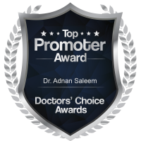 Hebron Smiles, Doctors Choice Awords Top Promotor Award Logo