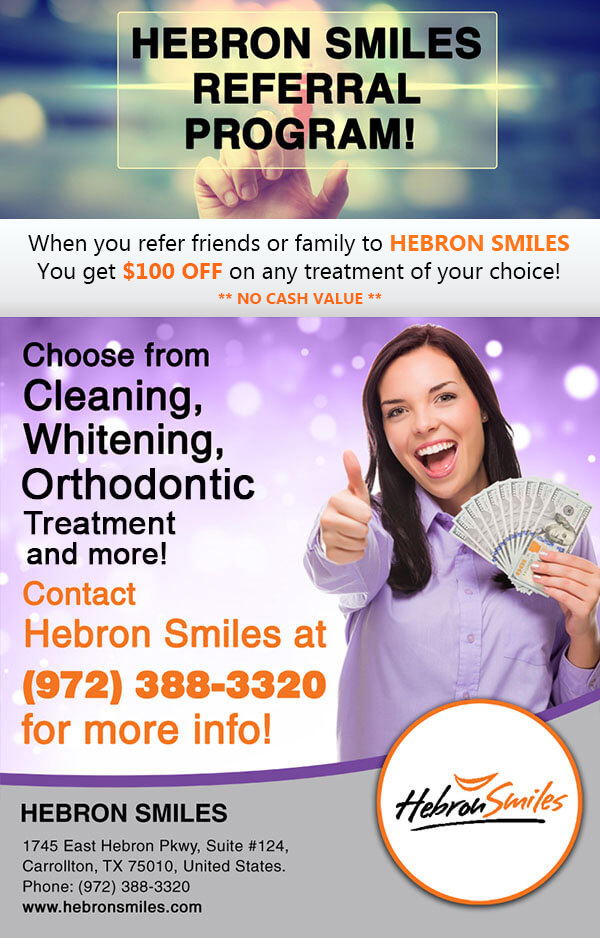 Cleaning and whitening offer