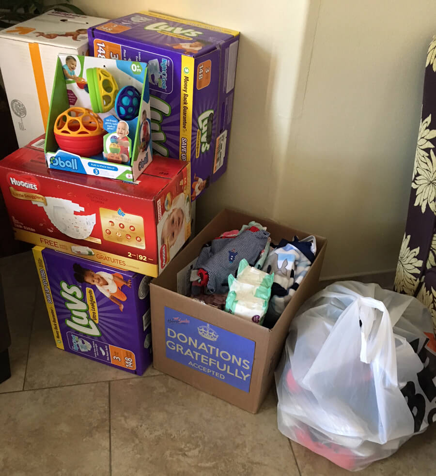 Donations Given For the Victims of Hurricane Harvey